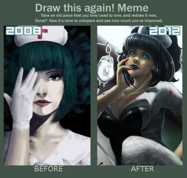 Meme: Before And After by Yuulru