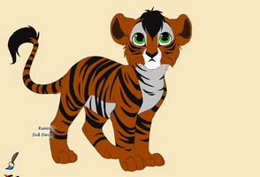 Shere Khan Scar cub by disneygirl987