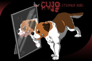 Cujo's reflection by Mon10