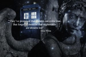 Nightmares are dreams too.-Doctor Who promo. by Alice91