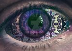 eye of 1000 stories by surrealvibez