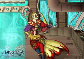 Odyssey VI - Dissidia Kefka Palazzo by Segnaless