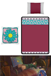 Skyward Sword Zelda's Bed Set by Enlightenup23