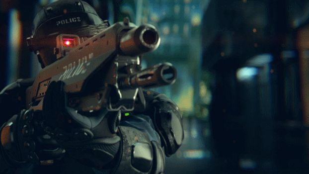 Cyberpunk 2077 Police GIF by GIFsAndMore
