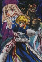 Fate Stay night 2 by krow000666
