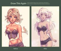 Draw this again - 2006 vs 2012 by SandraCharlet