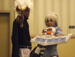Marik and Bakura: Darkness... by alexpharoa