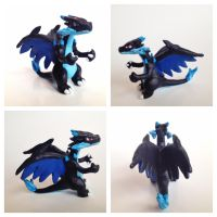 Mega Charizard X by Elucious