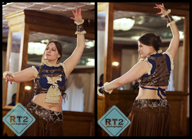 Steampunk Belly Dancing by Mink-the-Satyr