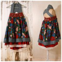 Folk fairytale dress by Mynoush