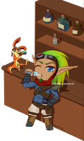 Com: Jak and Daxter by DamnedRomance