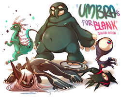 Umbras for BLANK // Design Project by Aishishi
