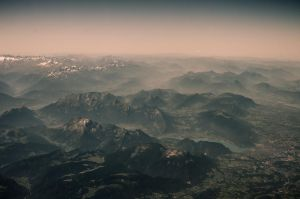Beneath my Eyes, the Distant Mountains by Caravela