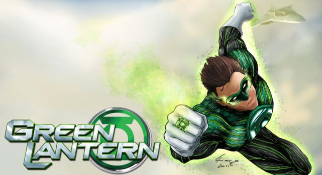 green lantern by TIAGOTLR