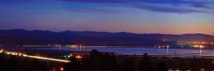 Humboldt Bay after Dusk by Figit090