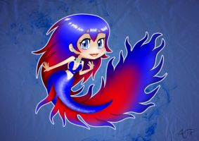 Betta Mermaid by Atomicfrog83