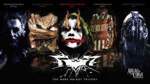 The Dark Knight Nemesis Trilogy by kishanharchandani