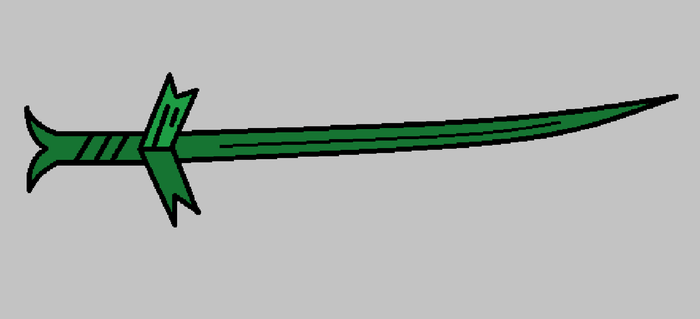 Finn's Grass Sword by samuraidemonslayer9