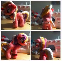 My little Pony - First finished plushie by ChristoDeCare