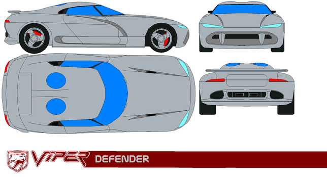 Dodge Viper Defender by bagera3005