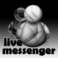 windows live messenger icon by darkdawg