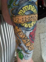 My Tattoo For My Son by turner1990