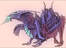 Creature Concept for Carajo/Knee Deep by chicken-stalker