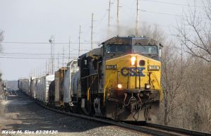CSXT 158 leads CSXT Q686 18 by EternalFlame1891