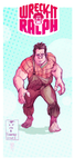 Wreck-It Ralph color by alch3mist-design