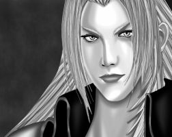 -Sephiroth-Final fantasy by Eros-lanson