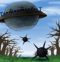 Dechmont Woods Spheres by Monster-Man-08