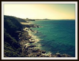Point Arkwright Cliffs by Vessecora