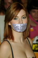 Elisha Cuthbert tape gagged by ikell
