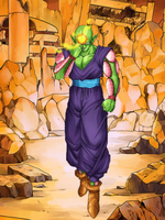 Piccolo (poster) by HazeelArt