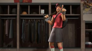SFM Poster: The Girly Scout by PatrickJr