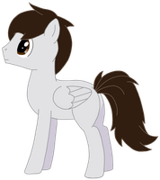 Aba the Pensive Pony by CatIron