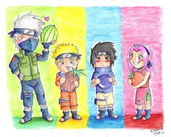 Naruto fruit basket by Katie777