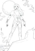 Donna Troy Lines by wardogs101