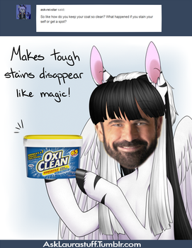 For tough stains by Noodlefreak88