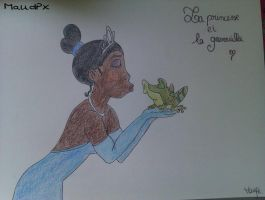 The Princess and the Frog by Maudpx