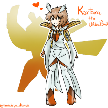 Kartana Gijinka by MichiyoDiancie