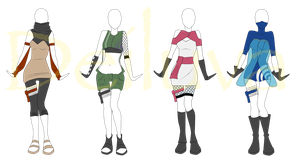 Naruto Outfit Adopts 1 (OPEN) by Deiluva