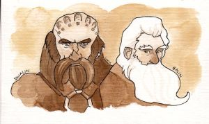 Dwalin and Balin. by tisserande