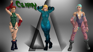 Cammy 1p update + skin pack by DragonLord720