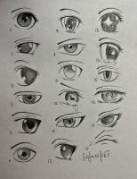 anime eyes.. by SolnceDei