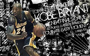 Kobe Bryant Finals Wallpaper by Angelmaker666