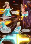 EVB: Elsa vs. Ridley! Page 1 by ForeverNyte