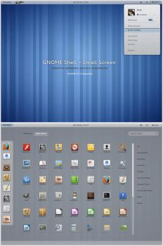 GNOME Shell - Small Screen by half-left