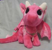 Custom PenDragon Darling the pink Dragon by angelberries