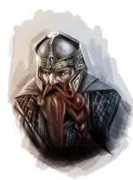 Gimli the son of Gloin by dannykojima